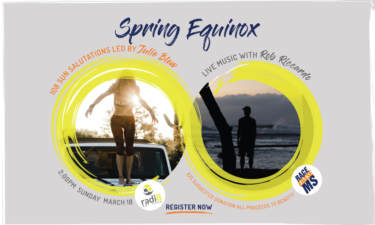 Spring Equinox with Julie Blew & Live Music from Rob Riccardo