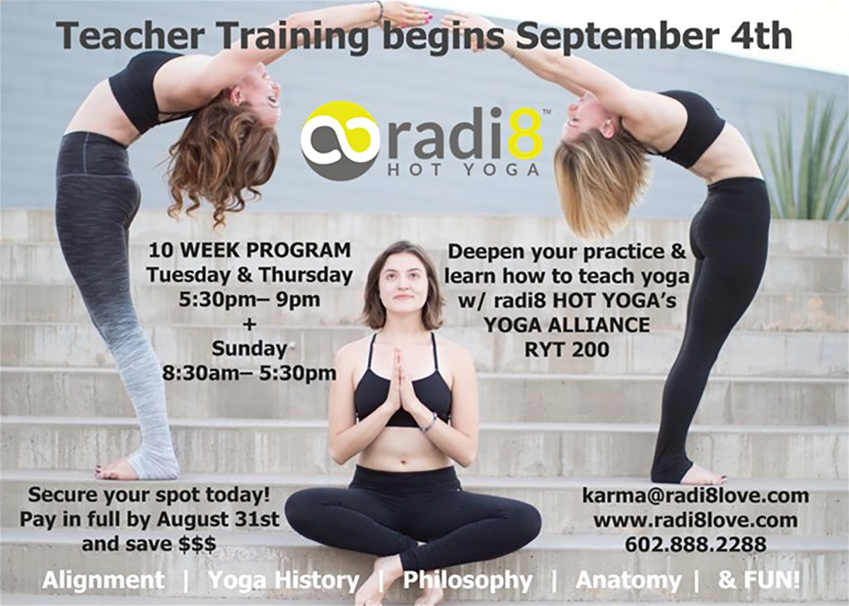 radi8 Hot Yoga Teacher Training